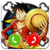 Call Luffy From One Piece Prank icon
