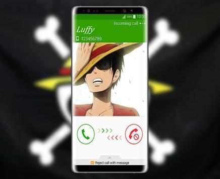Call Luffy From One Piece Prank poster