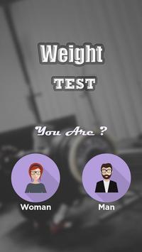 Weight Test Scanner Prank poster