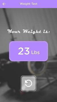Weight Test Scanner Prank screenshot 2