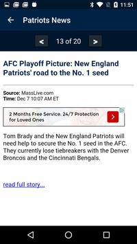 Football News - Patriots screenshot 1