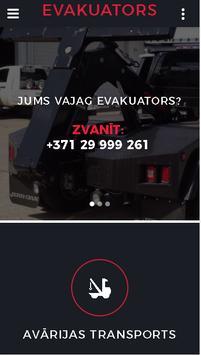 Evakuators Riga poster