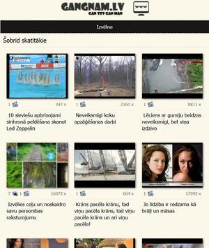 GanGnam.lv screenshot 2
