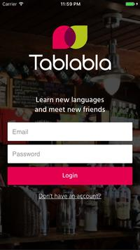 Tablabla poster