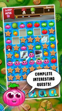 Match 3: Vegetables Crush apk screenshot