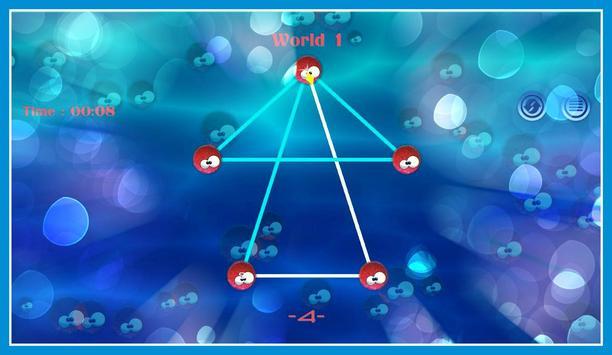 Connect sea urchin Dots screenshot 3