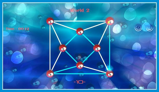 Connect sea urchin Dots screenshot 11