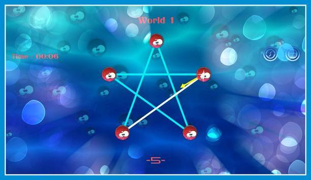 Connect sea urchin Dots screenshot 13
