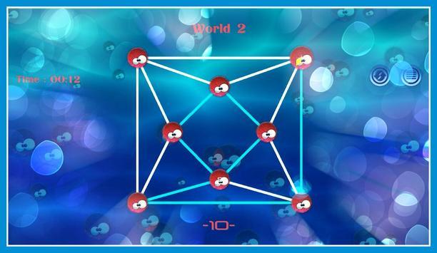 Connect sea urchin Dots screenshot 17