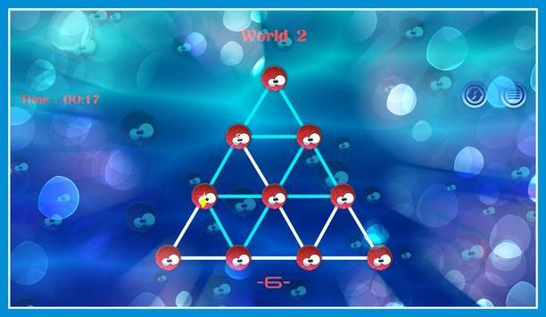 Connect sea urchin Dots screenshot 6