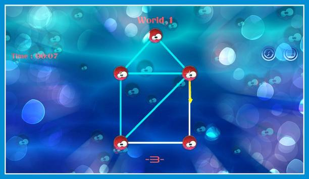 Connect sea urchin Dots screenshot 8