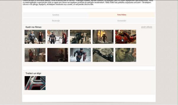 Kinoteatros.lv screenshot 10