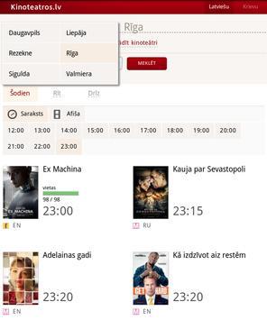 Kinoteatros.lv screenshot 12