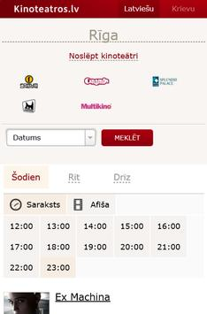 Kinoteatros.lv screenshot 2
