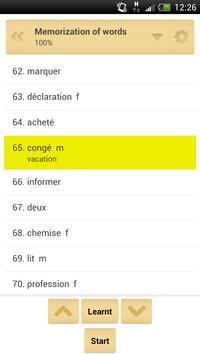 QuickTeacher French Language apk screenshot