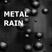 Raining Metal Balls LWP icon