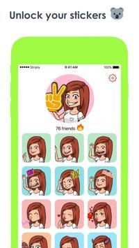 Striply - Avatar Messenger apk screenshot