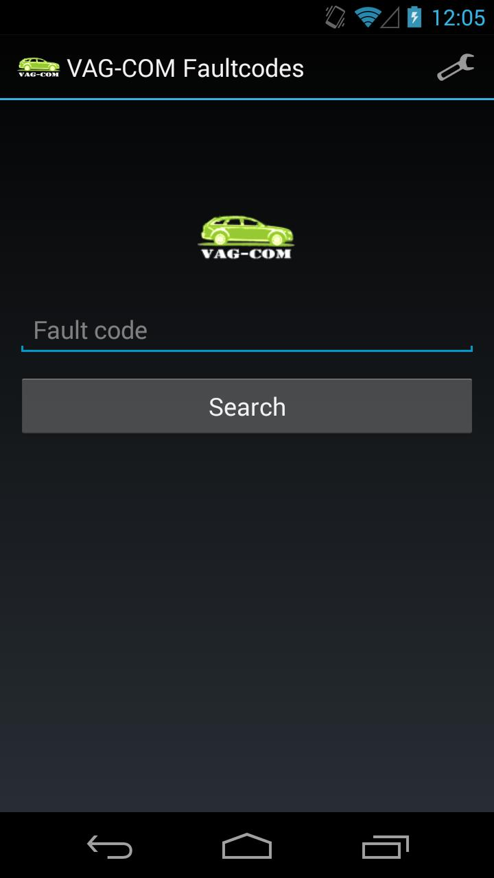 VAG-COM Faultcodes for Android - APK Download