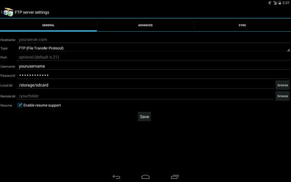 AndFTP (your FTP client) APK Download - Free Tools APP for Android ...