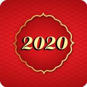 Bau cua 2018 3D icon