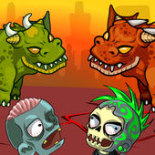 Dragon vs Zombies icon