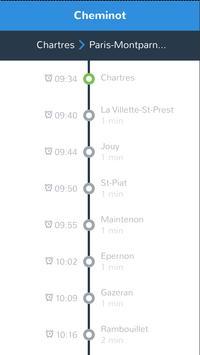 cheminot - horaires de train screenshot 2