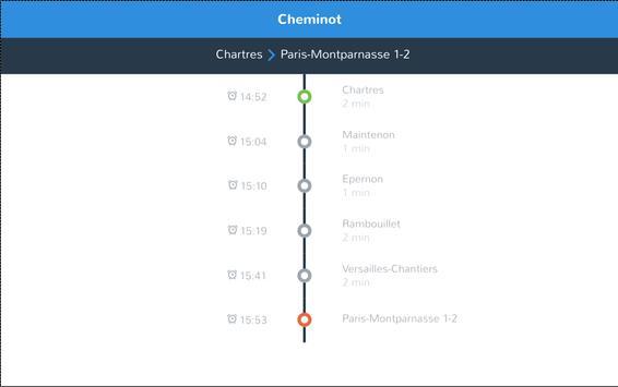 cheminot - horaires de train screenshot 8