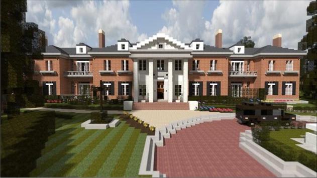 Mansion Ideas Minecraft poster