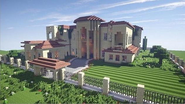 Mansion Ideas Minecraft screenshot 5