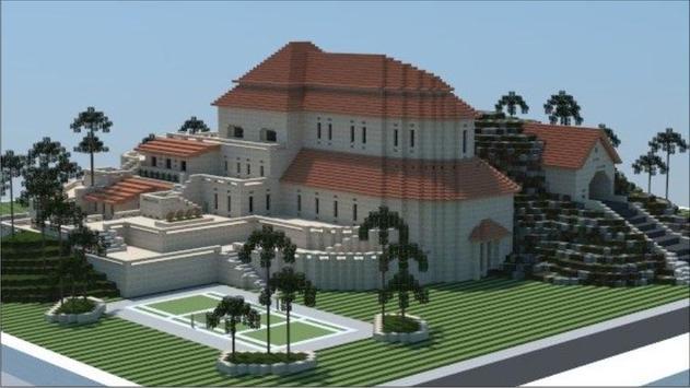 Mansion Ideas Minecraft screenshot 6