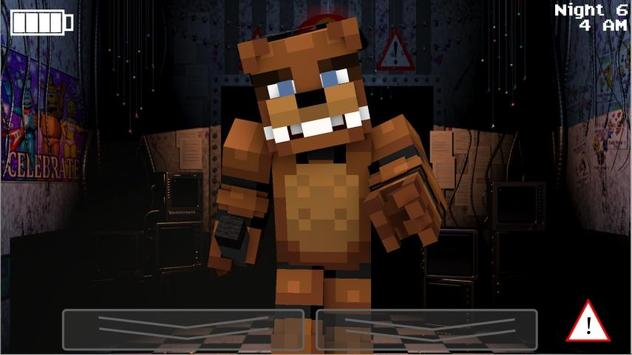 Night Fear Minecraft Mod poster