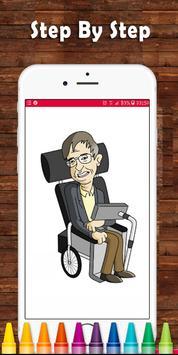 How To Draw Stephen Hawking | Fans screenshot 3