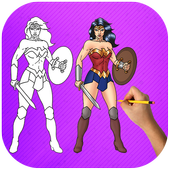How To Draw Wonder Woman | Fans icon