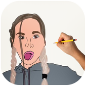 How To Draw Annie LeBland | Fans icon