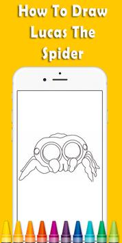 How To Draw Lucas The Spider screenshot 1