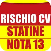 Rischio CV, statine, Nota 13 icon