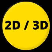 Myanmar 2D/3D icon
