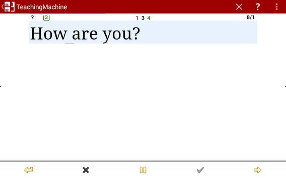 Flashcards - TeachingMachine apk screenshot