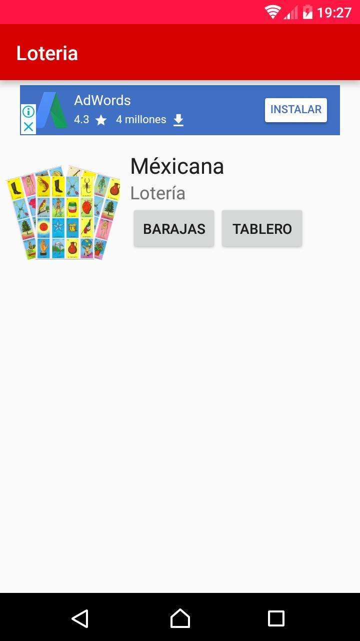 Baraja y Carta - Lotería Mexicana for Android - APK Download