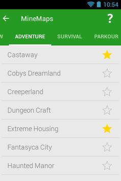 Maps for Minecraft PE MineMaps screenshot 1