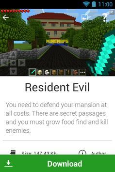 Maps for Minecraft PE MineMaps screenshot 3