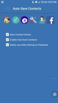 Auto Save Contact apk screenshot