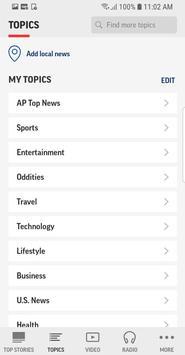 AP Mobile captura de pantalla 2