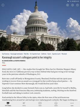 AP Mobile captura de pantalla 3