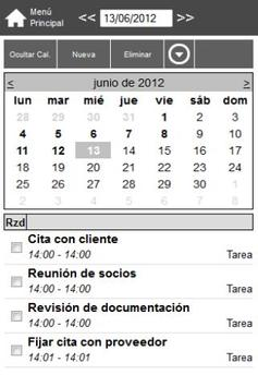 OttObasic software CRM apk screenshot