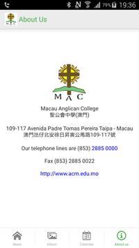 Macau Anglican College poster