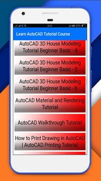 Full Autocad Tutorial Course For Android Apk Download