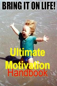 Motivation Handbook Guide poster