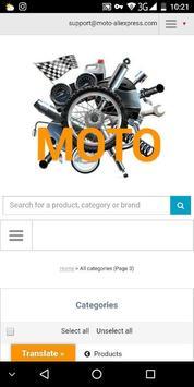 Moto Aliexpress screenshot 1