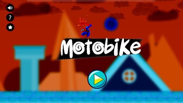 Crazy Spider Motorbike Run poster